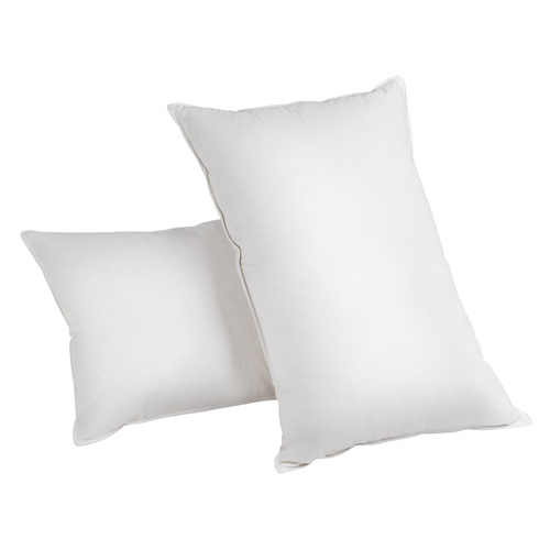 Giselle Bedding Set of 2 Duck Down Pillow - White